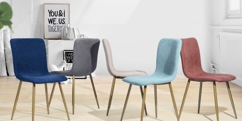 4 Mid-Century Modern Chairs Only $219.99 Shipped on Wayfair.com (Just $54.99 Each)