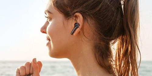 Waterproof Wireless Bluetooth Earbuds w/ Charging Case Only $16 Shipped on Amazon