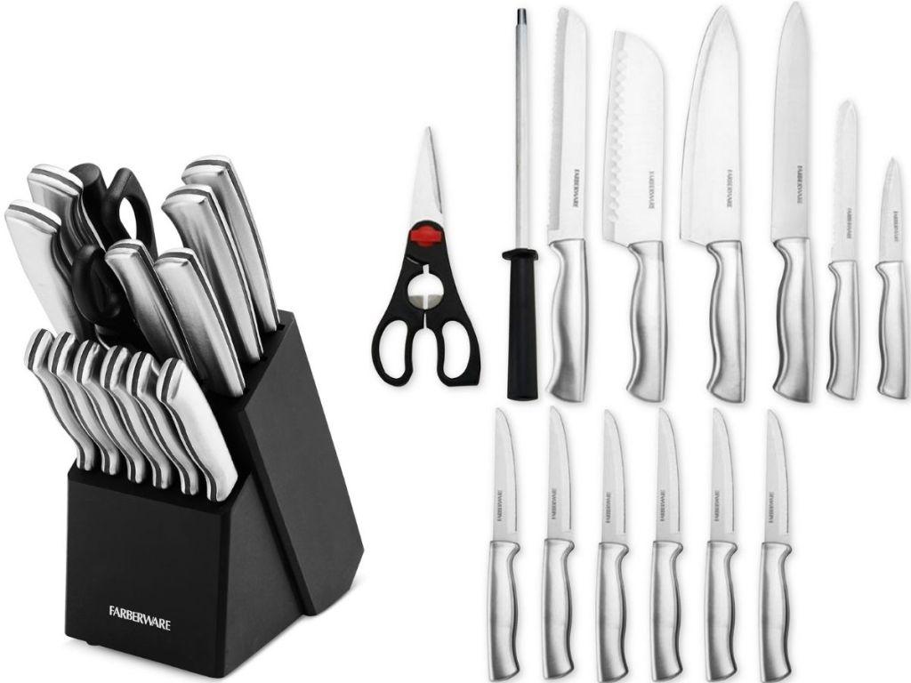 Farberware Knives Block
