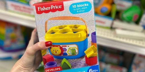 Fisher-Price Baby's First Blocks Only $5 on Walmart.com + Save on Disney, Calico Critters, & More