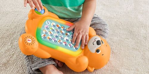 Fisher-Price Interactive Otter Keyboard Toy Just $10 on Amazon (Regularly $20)