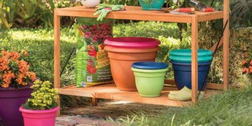 Plastic Pot Planters from $2.88 Shipped on Wayfair.com (Great Gift Idea for Mom!)