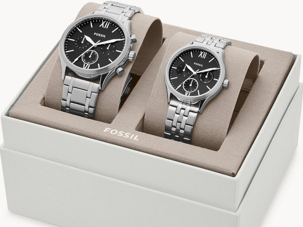 Fossil his and hers watch sets