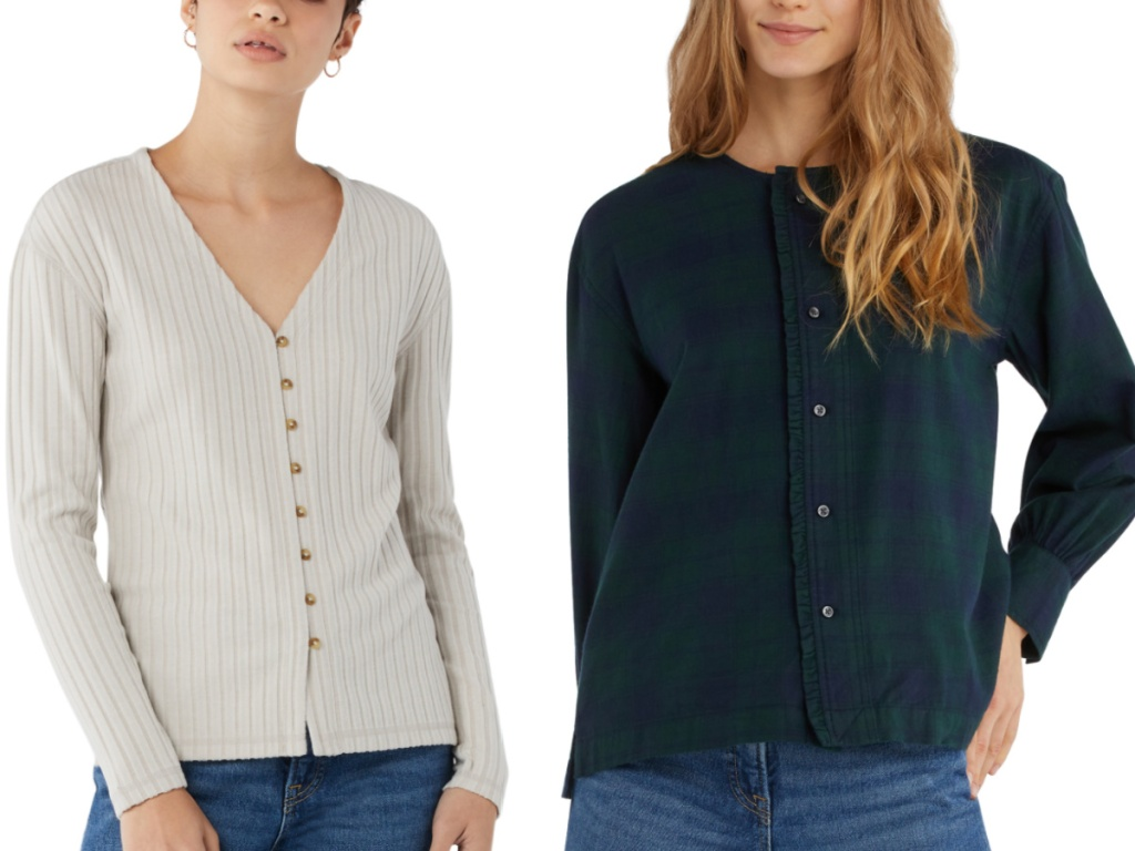 free assembly cardigan tops