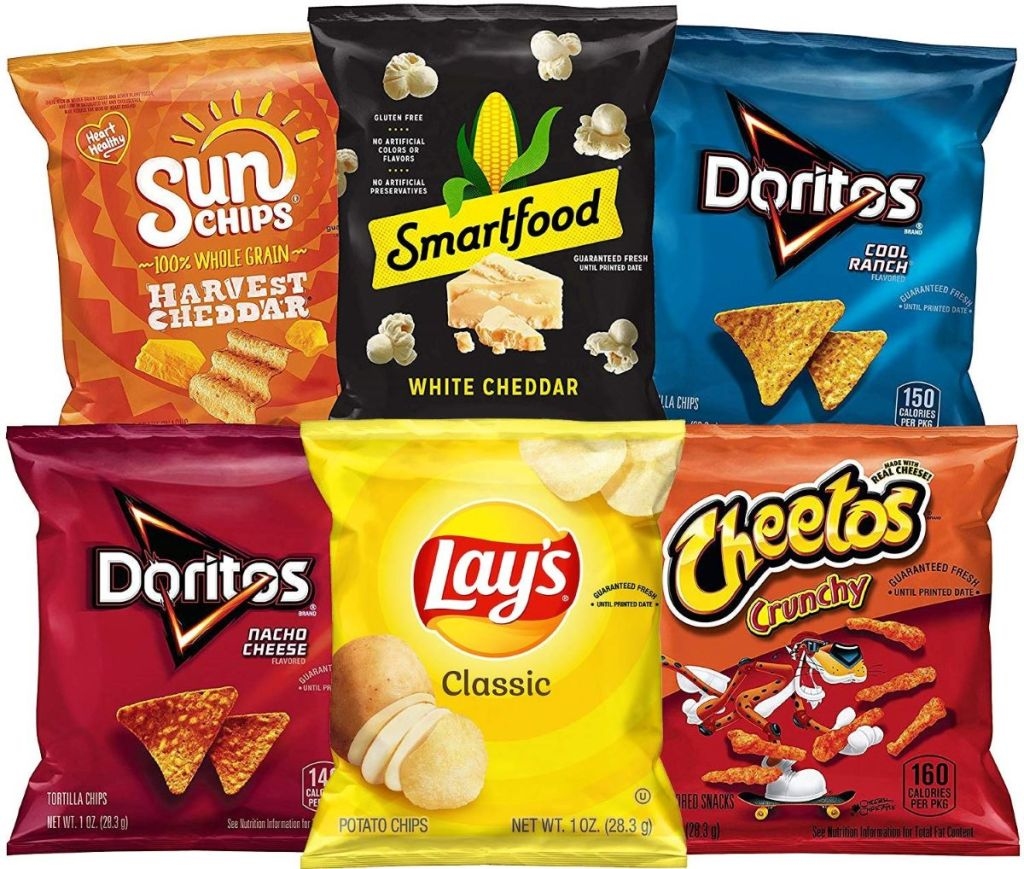 Frito-lay Classic Variety Pack of chips