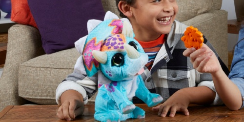 FurReal Interactive Dinosaur Plush Toy Only $15 on Amazon (Regularly $50)