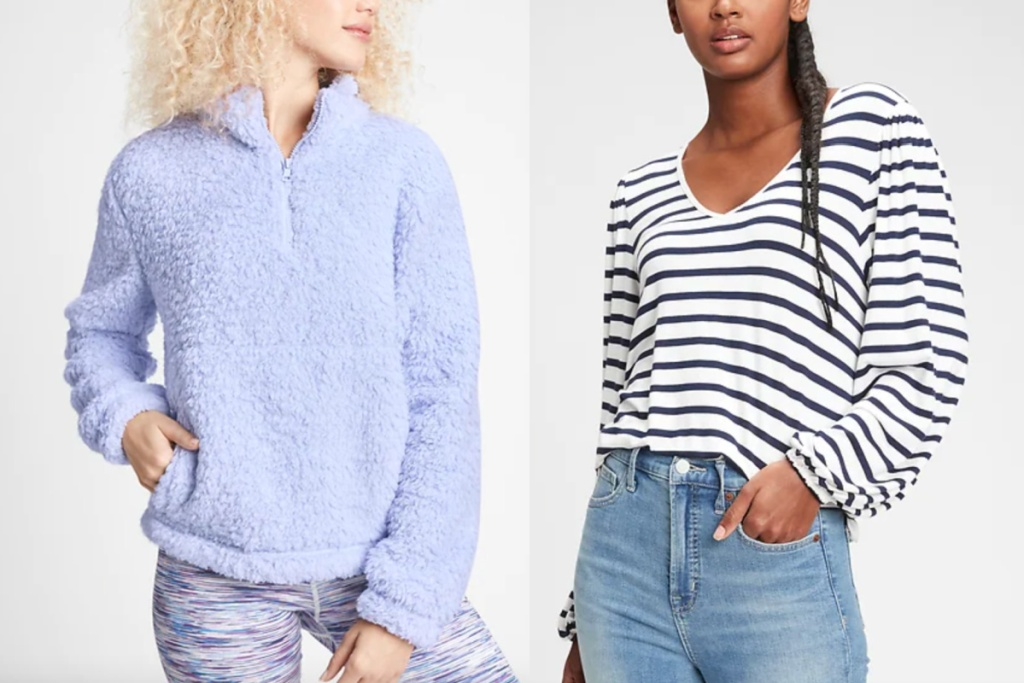 GAP womens styles sherpa and top