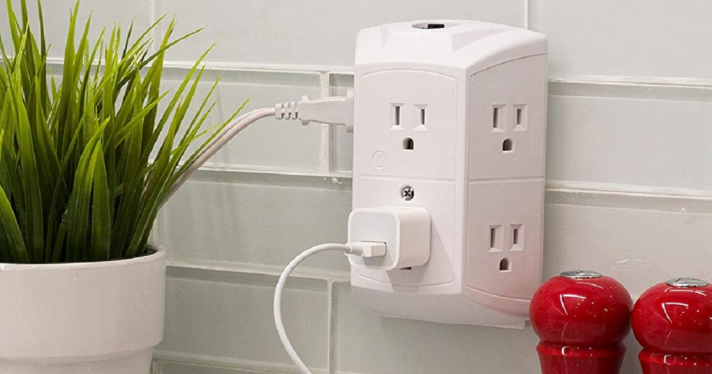 6-outlet wall plug