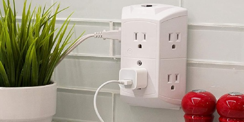 GE 6-Outlet Wall Plug Only $5.97 on Amazon | Great Reviews