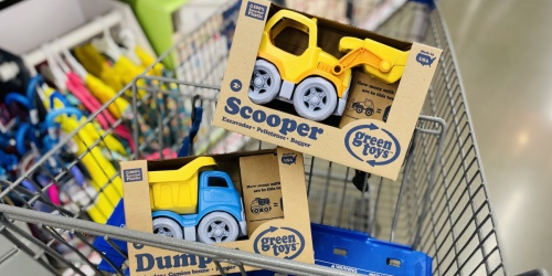 Green Toys Eco-Friendly Construction Trucks Only $6.99 at ALDI | Compare to $16 on Amazon