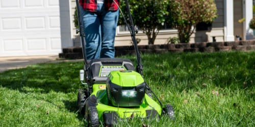 Greenworks Cordless Self-Propelled Lawn Mower Only $299.99 Shipped on BestBuy.com (Regularly $450)
