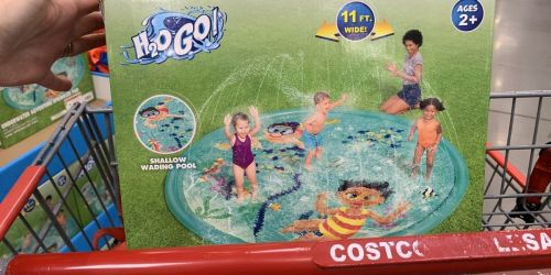 H2OGo! Underwater Adventure Sprinkler Pad Only $19.99 at Costco + More Deals on Outdoor Water Fun