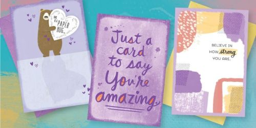 Score 3 FREE Hallmark Encouragement Cards + Free Shipping