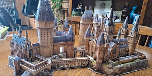 Harry Potter Hogwarts Castle 428-Piece 3D Puzzle Only $9.97 Shipped at Costco