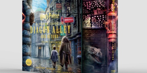Harry Potter A Pop-Up Guide to Diagon Alley and Beyond Hardcover Book Only $30 Shipped on Amazon (Regularly $75)
