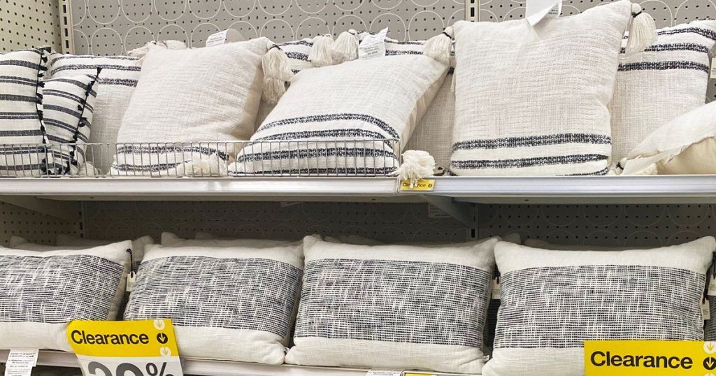 throw pillows on clearance a target