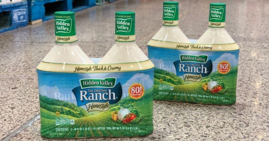 Hidden Valley Ranch 80oz 2-Pack instore on floor