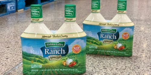 Hidden Valley Ranch Dressing 40-Ounce Bottle 2-Pack Only $7.99 at Costco (Just $4 Each)