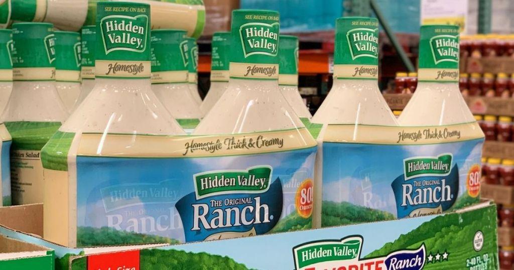 Hidden Valley Ranch 80oz 2-Packs displayed in store