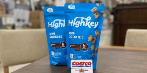 HighKey Mini Chocolate Chip Cookies Large 12oz Bag Just $12.99 at Costco | Keto & Gluten-Free