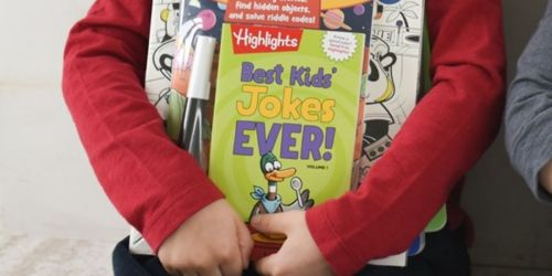 4 Highlights Kids Jokes Books Only $13.99 Shipped | Just $3.50 Each