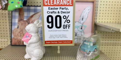 90% Off Easter Clearance at Hobby Lobby | Home Decor, Tableware, Linens & More