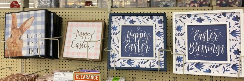 Hobby Lobby Easter Signs