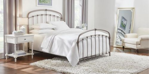 Farmhouse Style King or Queen Size Bed Only $224.55 Shipped on HomeDepot.com (Regularly $500)