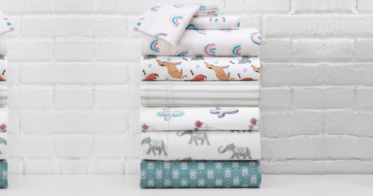 Jersey Knit Sheet Sets Just $15.49 on HomeDepot.com (Regularly $26) + 45% Off More Home Deals