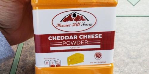 Cheddar Cheese Powder 1-Pound Jar Only $7.83 Shipped on Amazon