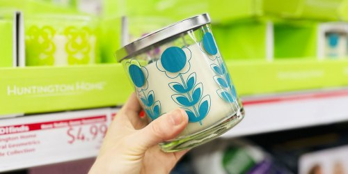 Huntington Home Spring Candles Just $4.99 at ALDI