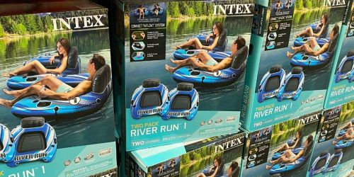 Intex River Run Connectible Lounge Tubes 2-Pack Only $29.98 at Sam's Club