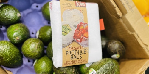 Joie Reusable Produce Bags 5-Count Set Only $4.99 at ALDI