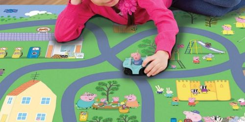 Huge Fisher-Price Playmat w/ 2 Toy Cars Only $14.81 on SamsClub.com | Peppa Pig, Hot Wheels & More