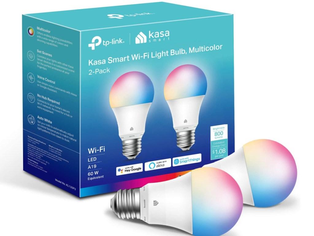 2 kasa smart light bulbs