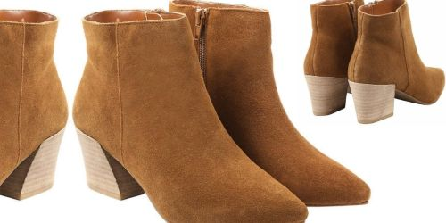 Kensie Suede Booties Only $9.97 Shipped on Costco.com