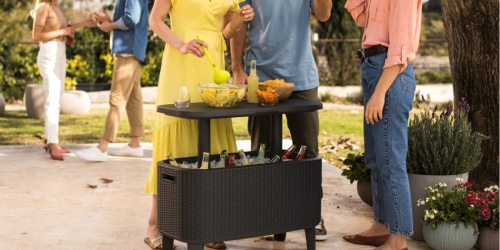 Keter Bevy Bar Table & Cooler Combo Just $99.99 Shipped on Costco.com