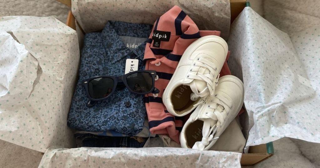 Kidpik Box with Sunglasses