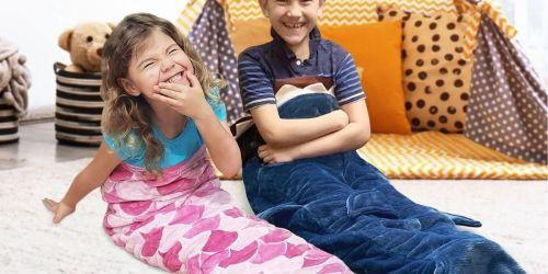 Kids Weighted Blankets Only $29.98 on Sam's Club | Choose from Shark or Mermaid