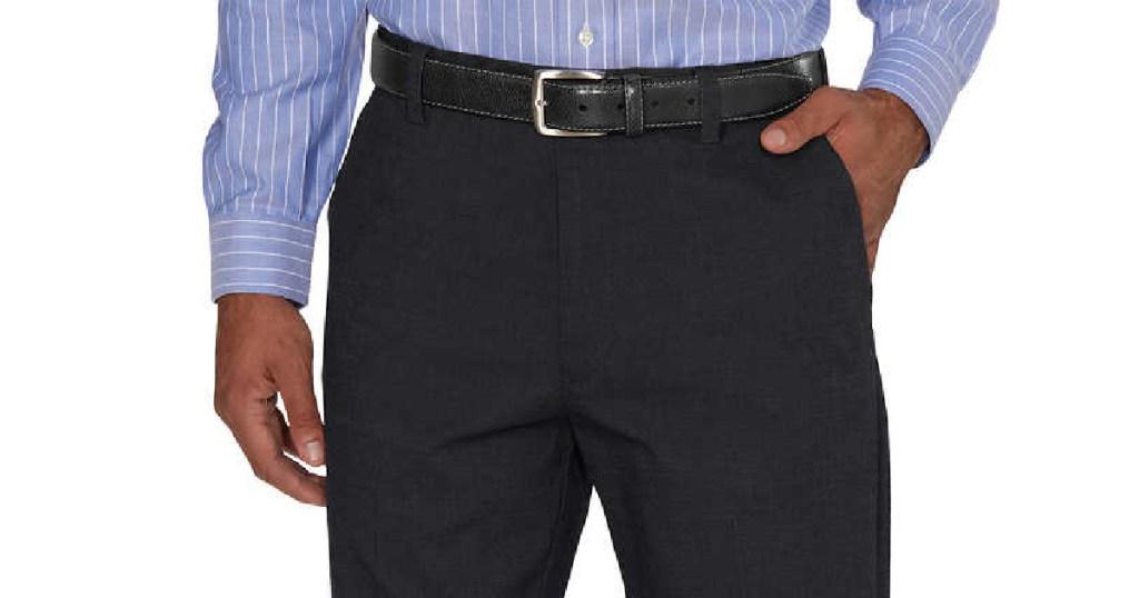 man wearing Kirkland Men's Pants