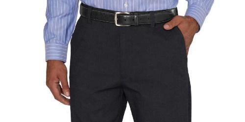 Score 5 Kirkland Men's No-Iron Dress Pants for $29.85 Shipped on Costco.com (Just $5.95 Each)