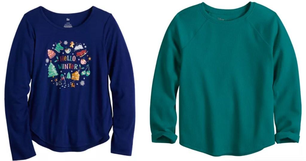 kohl's girls apparel