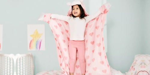 Kids Hooded Animal Throws from $13.49 Shipped for Select Kohl's Cardholders (Regularly $30)