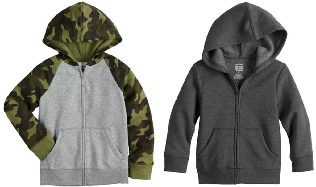 2 kids kohl's hoodies