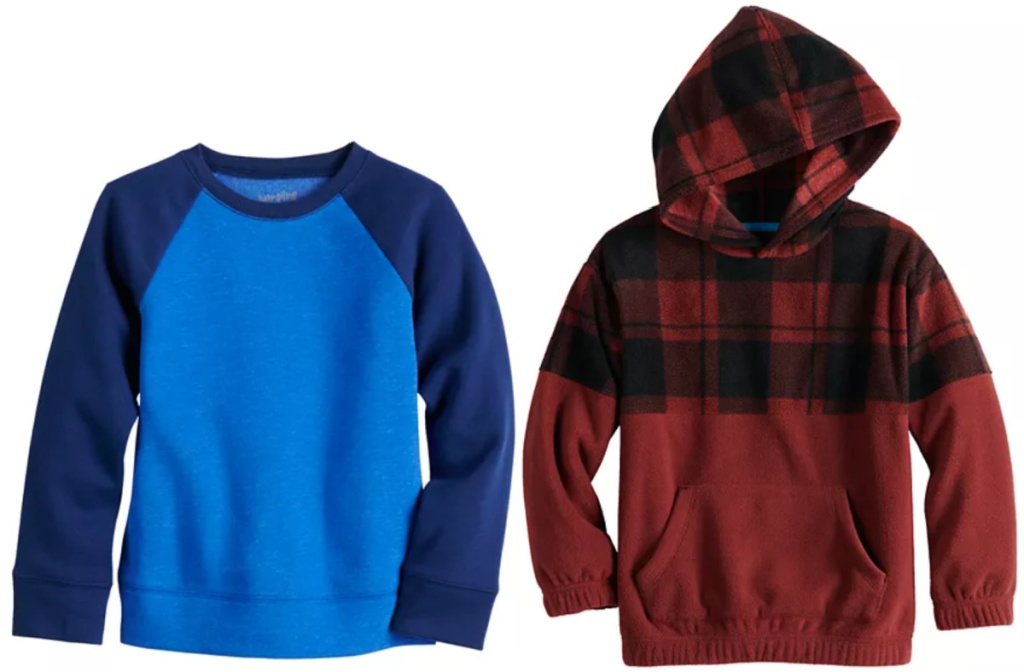 2 boys tops from kohl's
