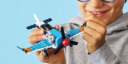 LEGO 3-in-1 Propeller Plane, Jet & Helicopter Building Kit Only $6.55 on Amazon
