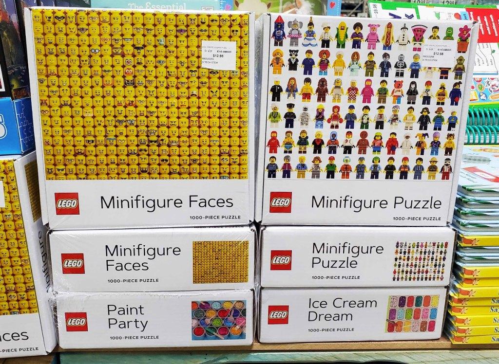 lego minifigure jigsaw puzzles at sam's club