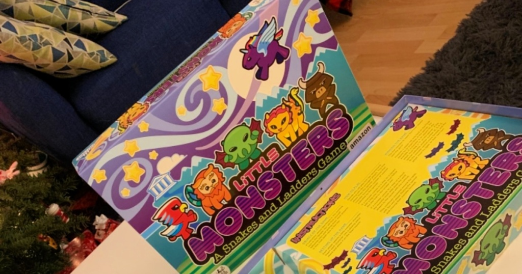 Little Monsters A Snakes and Ladders Game