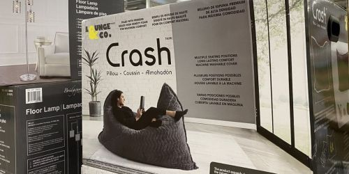 Lounge & Co. 6-Foot Foam Crash Pillow Only $119.99 at Costco