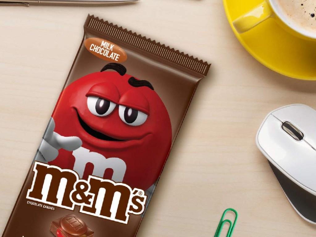 M&M Milk Chocolate Candy Bar